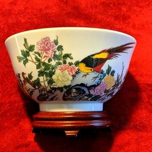 Lenox China bowl, 8x5 NWOT, with stand